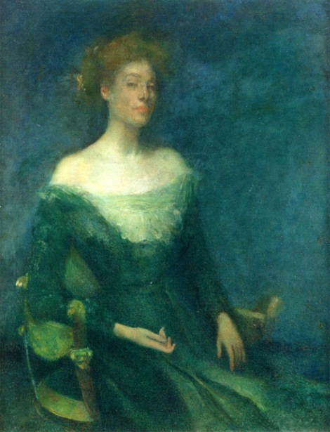 Lyda In Green - Mrs. Dewing