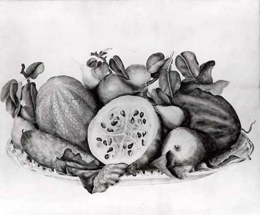 Melons And Pears