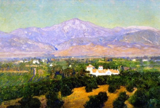 Mount San Bernardino, From Smiley's Heights, Redlands