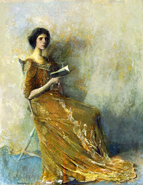Portrait In A Brown Dress