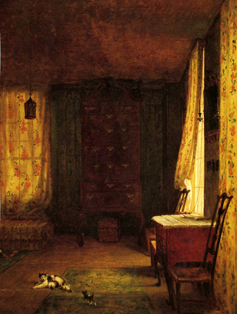 The Artist's Bedroom, Tiverton, Rhode Island