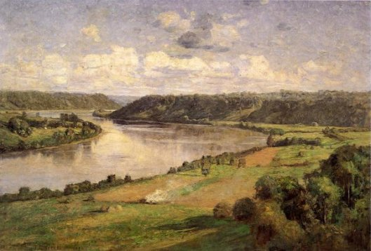 The Ohio River From The College Campus, Honover
