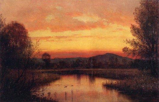 Twilight On The Marsh