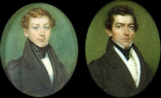 Two Gentlemen (possibly  brothers)