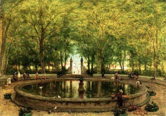 A Mexican Fountain, City Of Orizaba