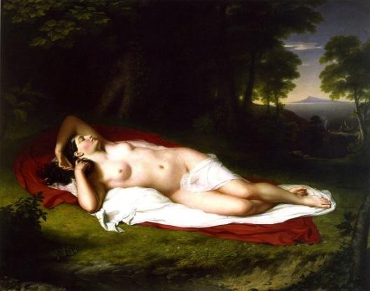 Ariadne Asleep On The Island Of Naxos