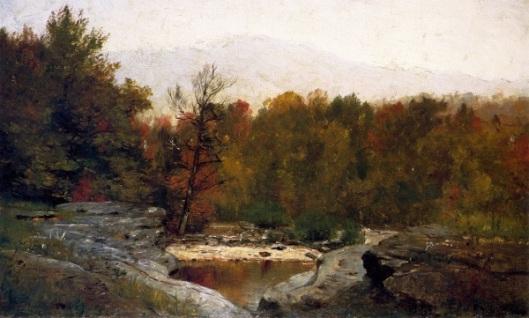 Autumn, Catskill Mountains In The Mist