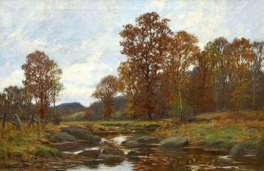 Autumn Landscape, Bantam River