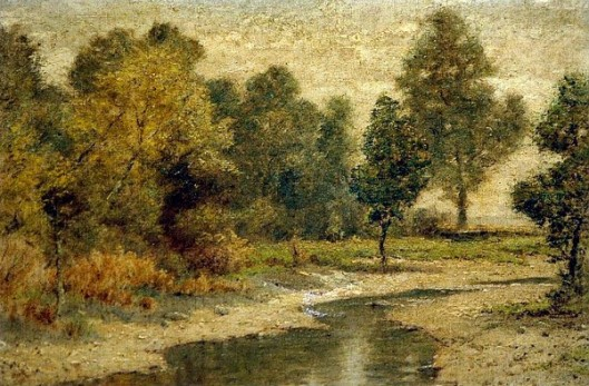 Autumn Landscape With A Stream