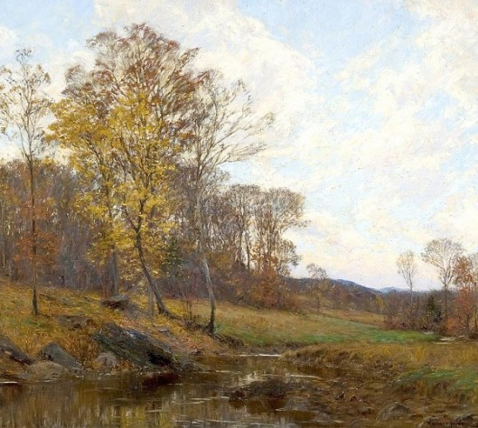 Country Stream, Autumn