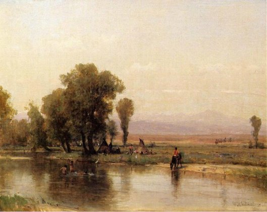 Encampment On The Platte River