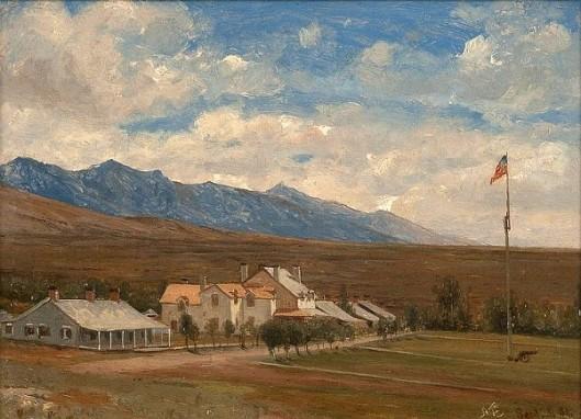 Fort Halleck, Nevada