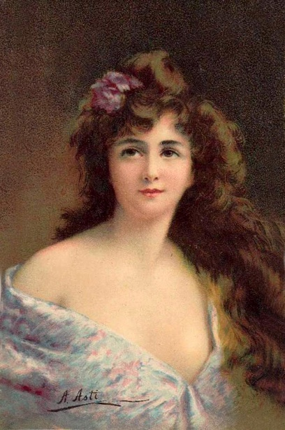 Gladys - Lady In Lilac Gown