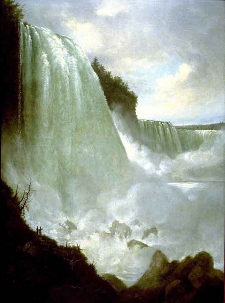 Horseshoe Falls From Below The High Bank (Niagara Falls)