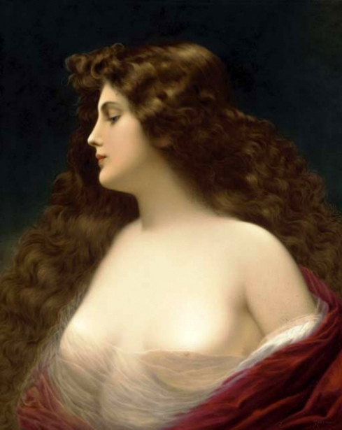 Long-Haired Woman
