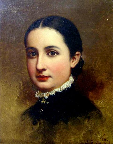 Miss Lizzie Markley Hartman