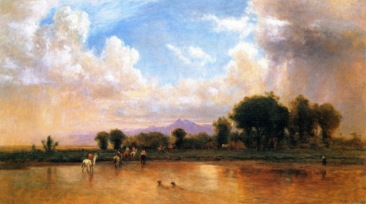On The Plains, Cache La Poudre River