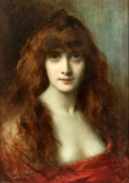 Portrait Of A Red Head