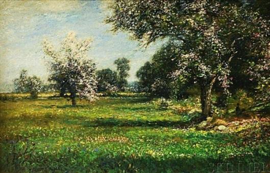 Spring Orchard Near Nanuet
