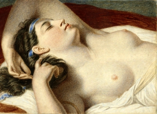 Study for Ariadne Asleep