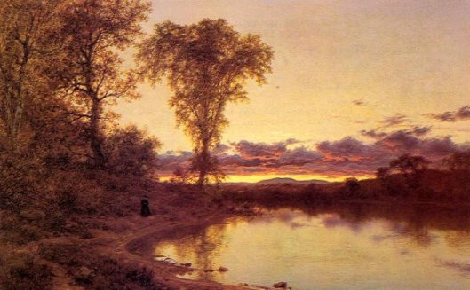 Twilight, A Stroll By The Shore
