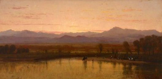 Twilight On The Plains, Platte River, Colorado