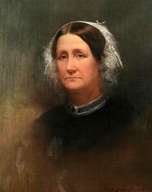 Woman In Lace Bonnet