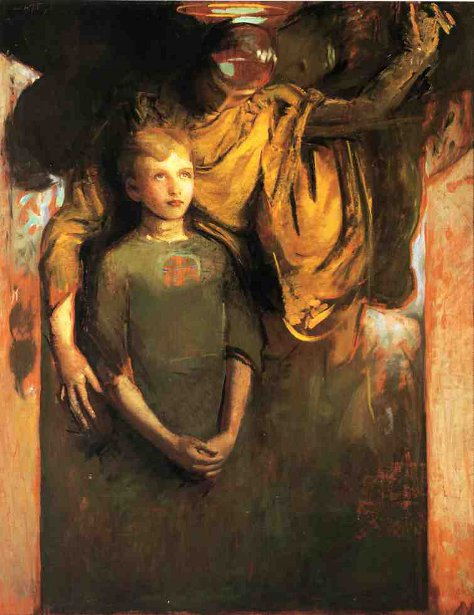 Boy And Angel