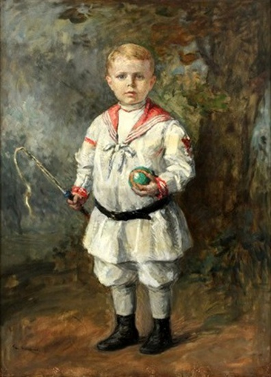 Edward Alger, Age Four