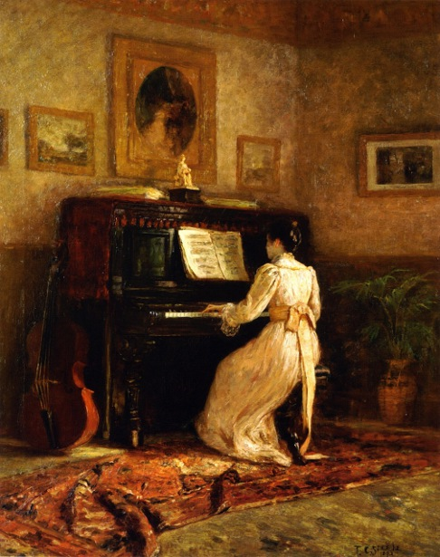 Girl At The Piano - The Piano - Daisy At The Piano