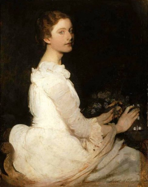 Girl In White (Margaret Greene)