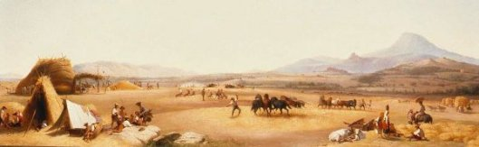 Harvesting On The Roman Campagna