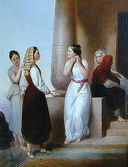 Israelites Spoiling The Egyptians