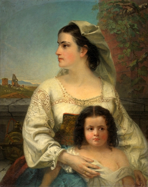 Italian Mother And Child
