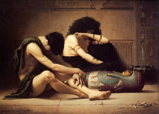 Lamentation Over The Death Of The First-Born In Egypt