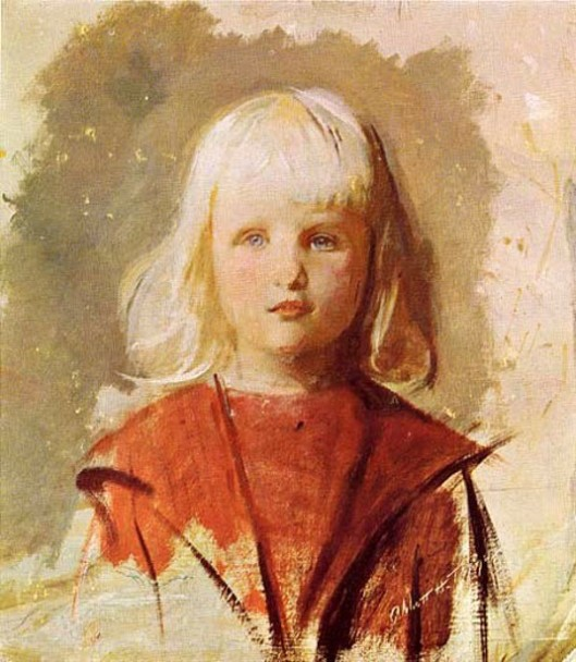 Little Boy In Red