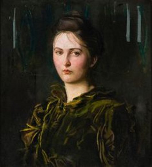 Mary,  Portrait Of The Artist's Daughter