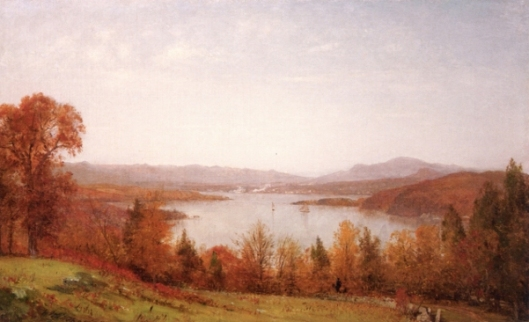 October On The Hudson Near West Point