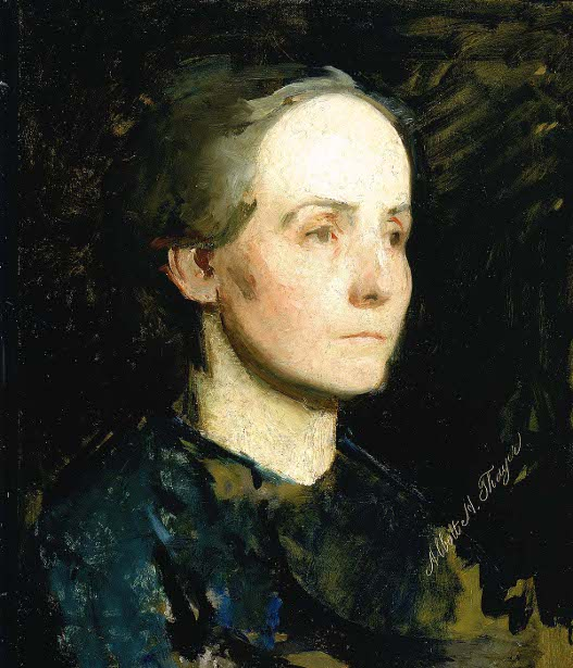 Portrait Of A Woman - Gertrude Bloede