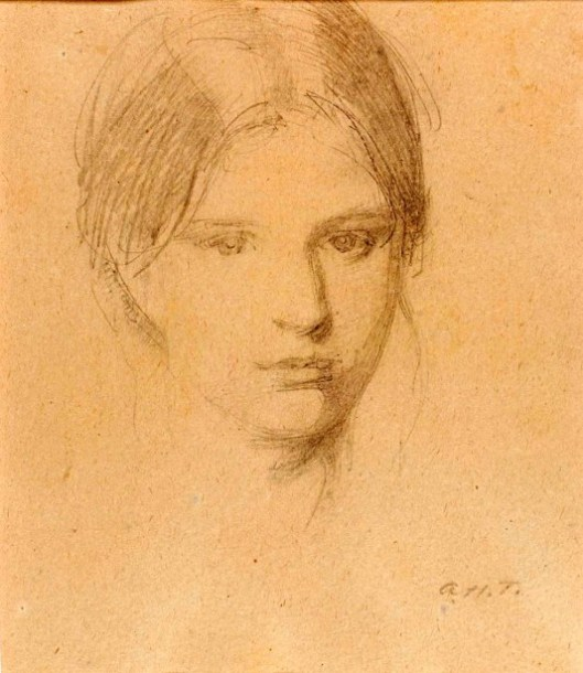 Portrait Of The Artist's Daughter, Mary