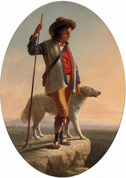 Shepherd Boy Of The Roman Campagna