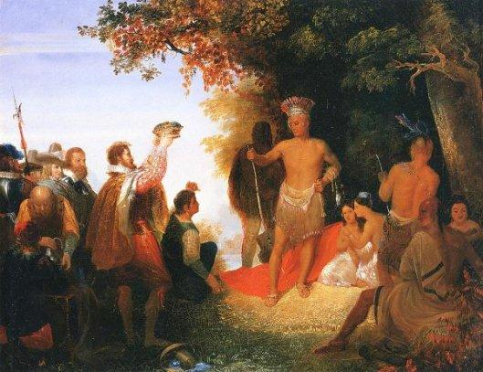 The Coronation of Powhatan