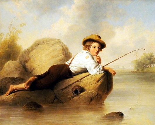 The Lazy Fisherman