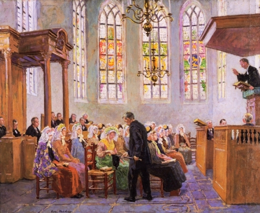 The Offertory - Interior Of A Church