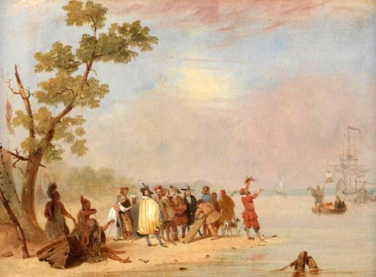 The Relief Of Jamestown - Old Times In The New World