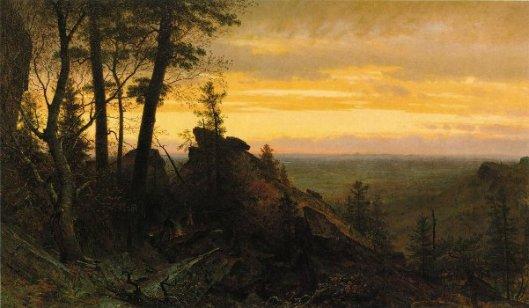 Twilight In The Shawangunk Mountains
