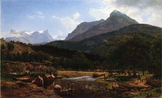 View Near Lake Lucerne