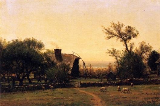 Whitehall - Bishop Berkeley's Farm At Middleton, Rhode Island