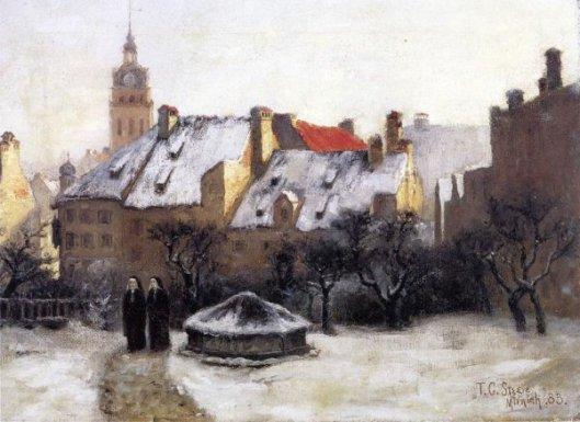 Winter Afternoon - Old Munich