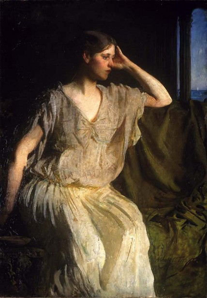 Woman In Grecian Gown